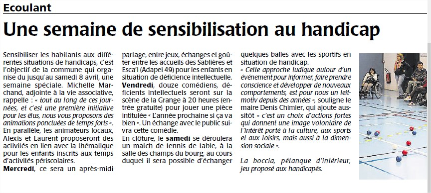 Courrier de l'Ouest avril 2017